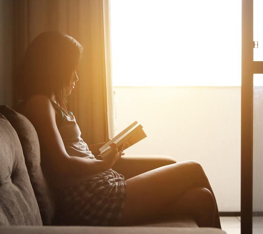 Lesen Balkon