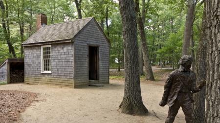 Thoreau Walden Hütte
