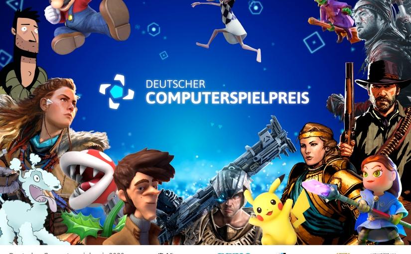 Die Gewinner des Deutschen Computerspielpreises 2020 stehenfest