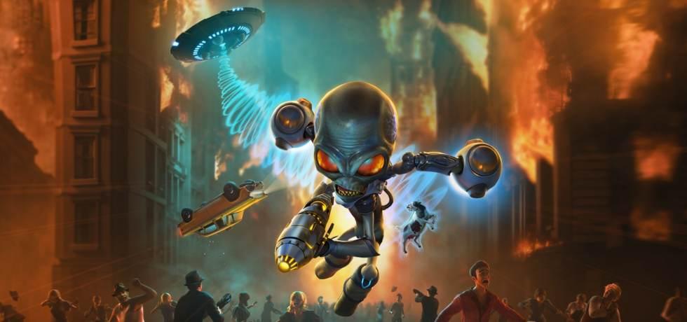 Destroy All Humans Artwork Alien