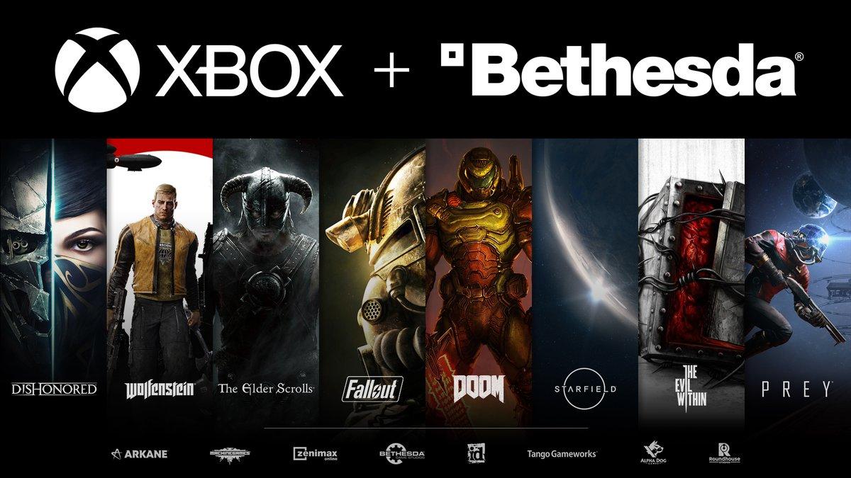 Bethesda Xbox Spiele Microsoft Artwork