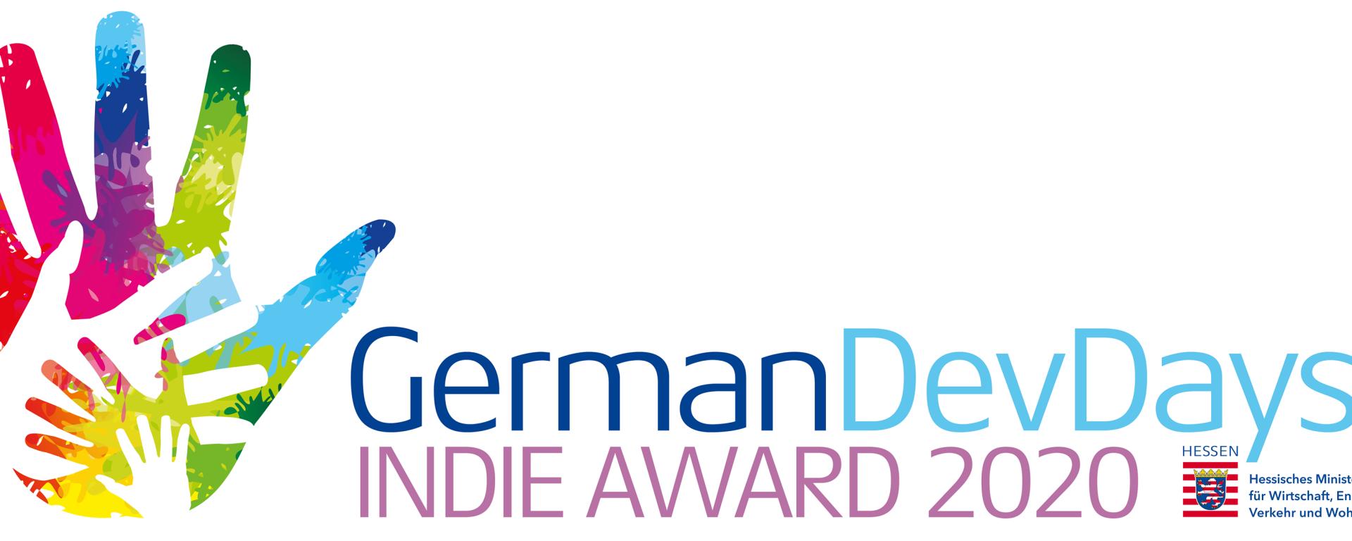 germandevdays indie awards 2020 logo