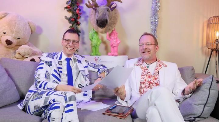 moderatoren der germandevdays indie awards 2020 stephan reichart und stefan marcinek