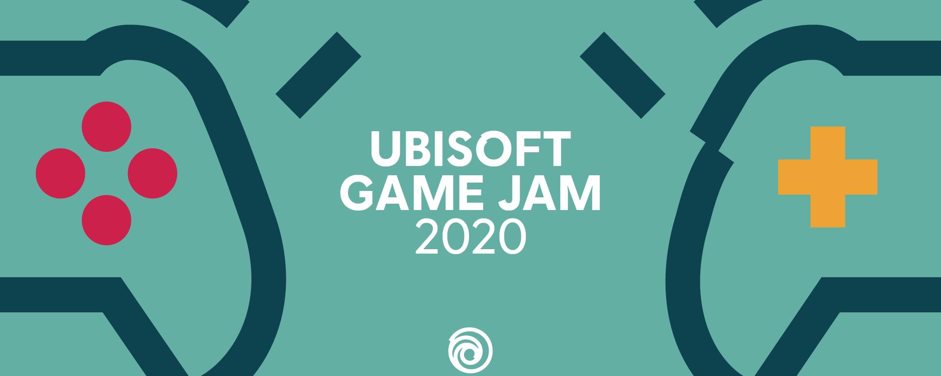 Flyer Ubisoft Game Jam 2020 Berlin