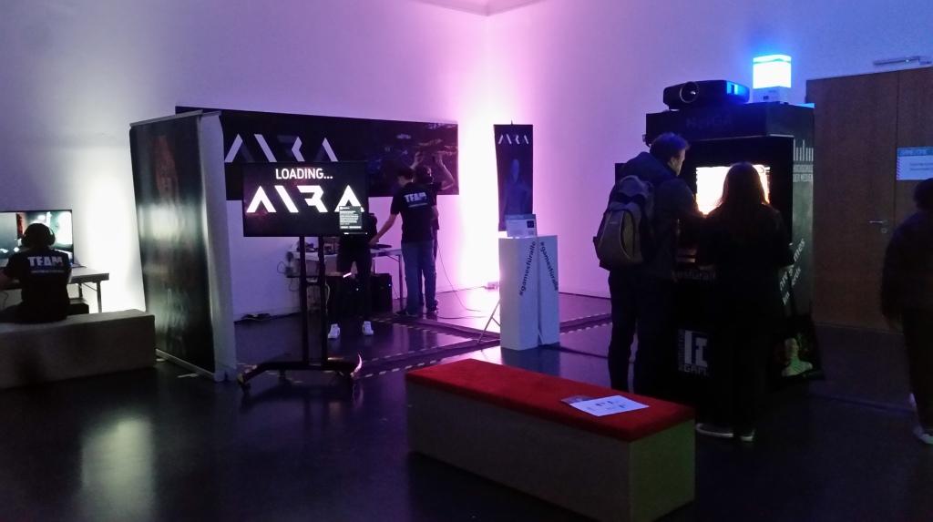 GameZone, Präsentation, Ausstellung, Games, Aira