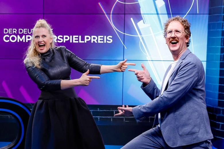 deutscher computerspielpreis barbara schöneberger uke bosse