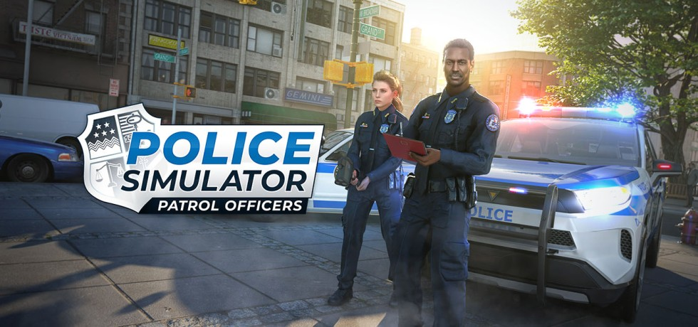 police simulator logo