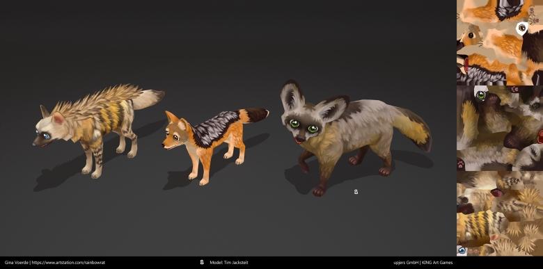 gina voerde zoo2 animals haar jac fox
