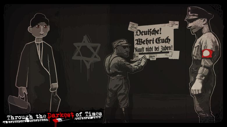 Throught the Darkest of Times, Paintbucke Games, Nazis, NS-Zeit, Juden, Boykott